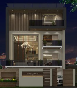 Elegant Home in Noida